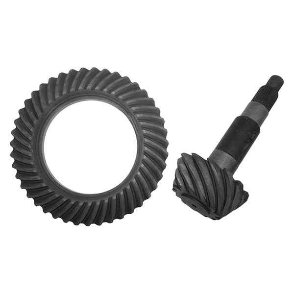 Crown And Pinion : Crown j rear differential ring and pinion