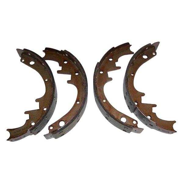 Drum Brake Lining : Crown j rear drum brake shoe and lining set