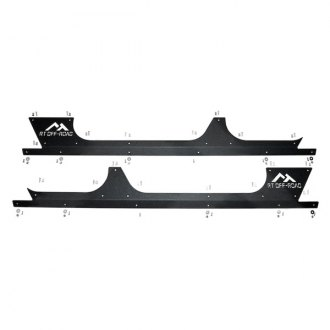 Crown® - Driver and Passenger Side Rocker Panel Guard Set
