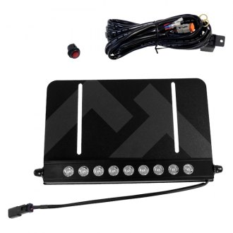 Crown® - LED Light Bar and License Plate Bracket Kit