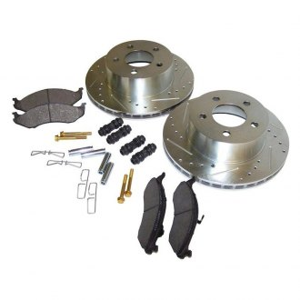 Crown® - Front Performance Brake Kit Drilled and Slotted