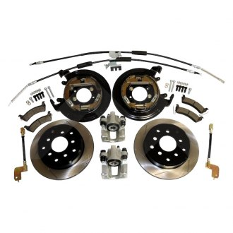 Crown® - Drum-to-Disc Slotted Rear Brake Conversion Kit