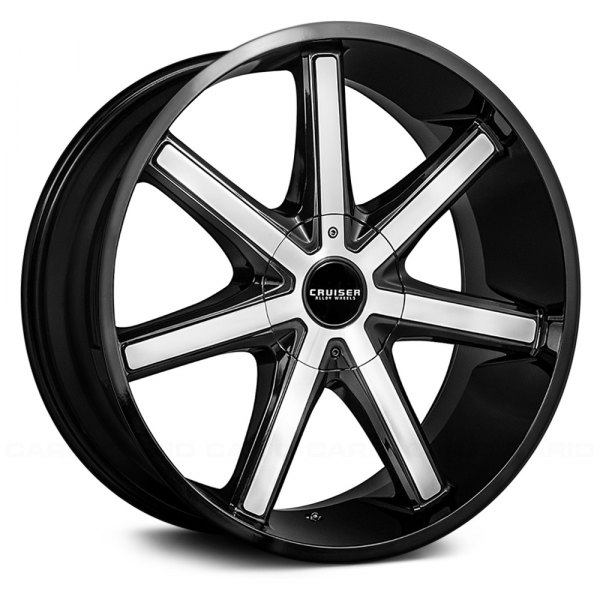 Cruiser Alloy 174 926mb Defiant Wheels Gloss Black With