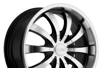 CRUISER ALLOY® - 914MB SPARTAN Gloss Black with Machined Face and Lip