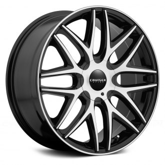 CRUISER ALLOY® - 915MB ENDURE Gloss Black with Machined Face and Pinstripe