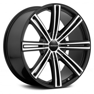 CRUISER ALLOY® - 916MB OBSESSION Gloss Black with Machined Face