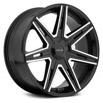 CRUISER ALLOY® - 918MB PARADIGM Gloss Black with Mirror Machined Accents