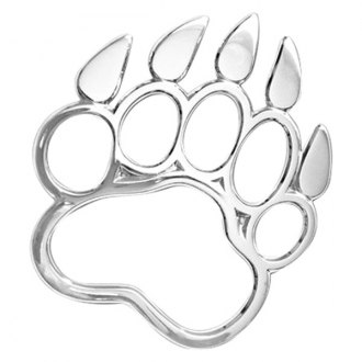 "Cruiser® - 3D-Cals ""Bear Paw"" Chrome Emblem"