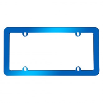 Cruiser® - Anodized Style License Plate Frame