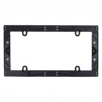 Cruiser® - Industrial Style Textured Matte Black License Plate Frame