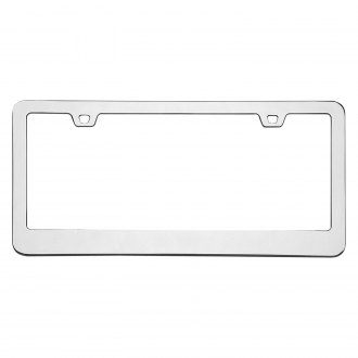Cruiser® - Neo Classic Chrome License Frame