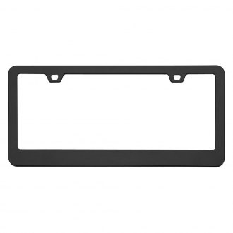 Cruiser® - Neo Classic Black License Frame