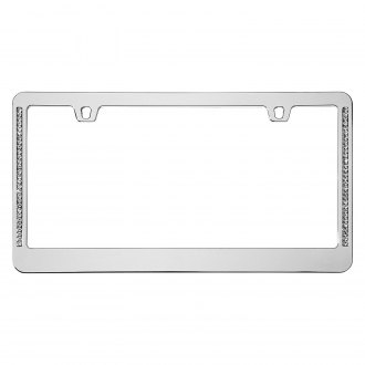 Cruiser® - Neo Diamondesque Chrome License Frame
