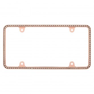Cruiser® - Diamondesque Rose Gold with Clear License Frame