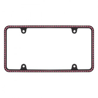 Cruiser® - Diamondesque Matte Black/Pink License Frame