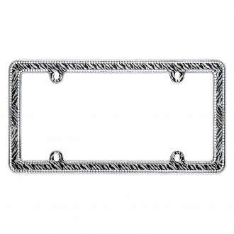 Cruiser® - Zebra Bling License Frame