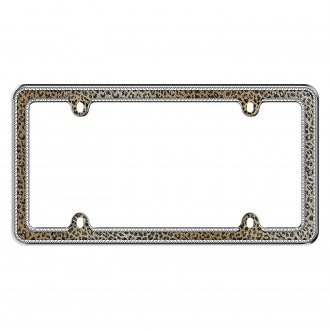Cruiser® - Leopard Bling License Frame