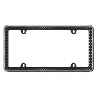 Cruiser® - Button Tuck Bling License Frame