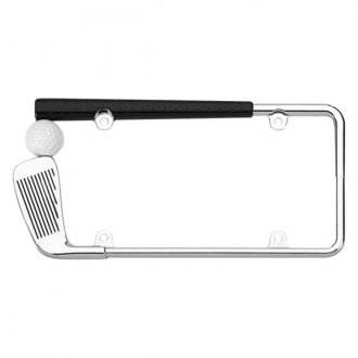 Cruiser® - Golf Club Chrome License Frame