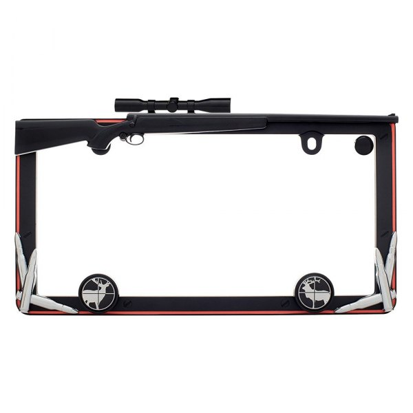 Cruiser® - Hunting Style License Plate Frame with Fastener Caps
