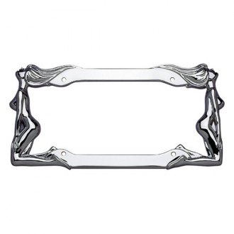 Cruiser® - Twins Style Chrome License Plate Frame