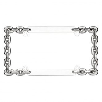 Cruiser® - Chain Chrome License Frame