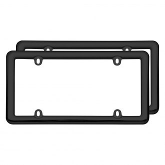 Cruiser® - Nouveau Style Black License Plate Frames