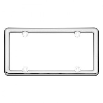Cruiser® - Nouveau Chrome License Frame