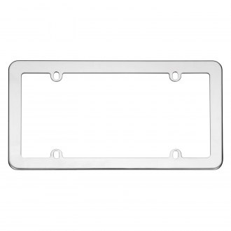 Cruiser® - Stainless Steel License Frame