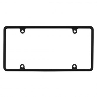 Cruiser® - Slim Rim Black License Frame