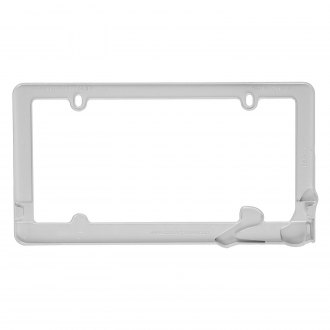 Cruiser® - Stiletto White License Frame