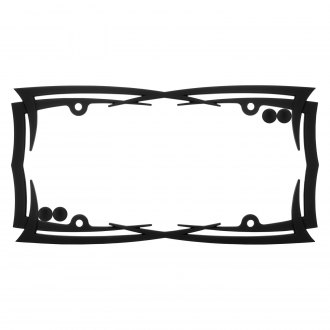 Cruiser® - Blades Flat Black License Frame with Fasteners Cap
