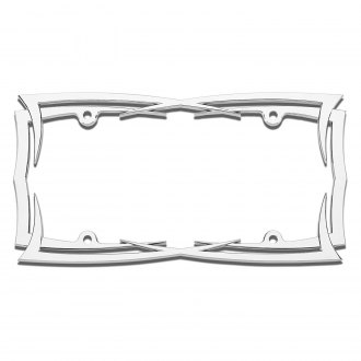 Cruiser® - Blades Chrome License Frame