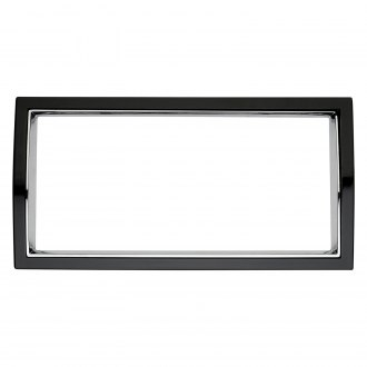 Cruiser® - Curve Black/Chrome License Frame