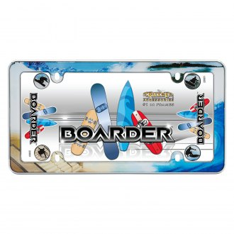 Cruiser® - Boarder Chrome License Frame