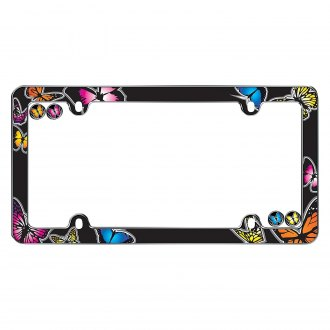 Cruiser® - Butterfly Chrome License Frame