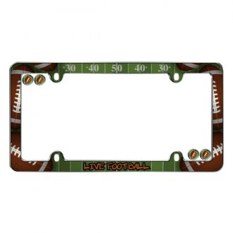 Cruiser® - Live Footbal Logo on License Frame