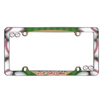 Cruiser® - Live Baseball Logo on License Frame