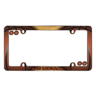 Cruiser® - Live BaskebBall Logo on License Frame