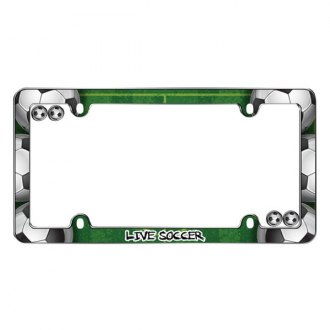 Cruiser® - Live Soccer Logo on License Frame
