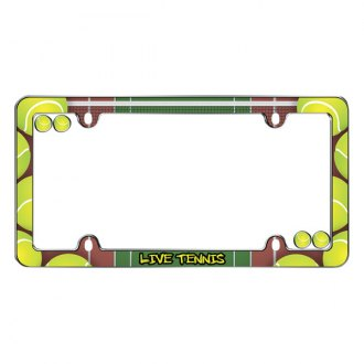 Cruiser® - Live Tennis Logo on License Frame