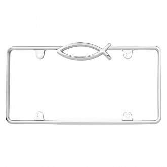 Cruiser® - Ichthus Chrome License Frame