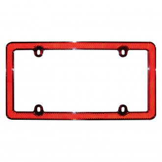 Cruiser® - Red Reflector II License Frame