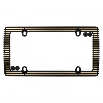 Cruiser® - Billet License Frame with Fasteners Cap