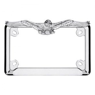 Cruiser® - Motorcycle Eagle Chrome License Frame