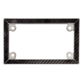 Cruiser® - Motorcycle Carbon Fiber II License Frame