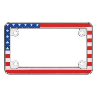 Cruiser® - Motorcycle USA Flag License Frame