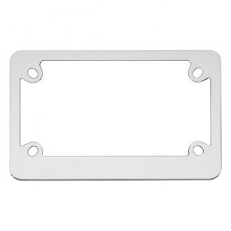 Cruiser® - Motorcycle Classic Chrome License Frame