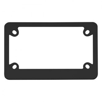 Cruiser® - Motorcycle Classic Black License Frame