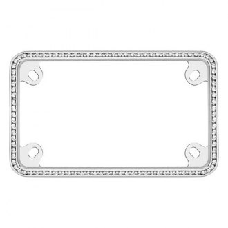 Cruiser® - Motorcycle Diamondesque License Frame